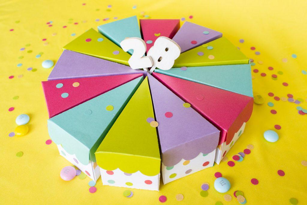 Pastel De Papel Cajitas Diy Regalo De Cumpleaños Sayil Diy