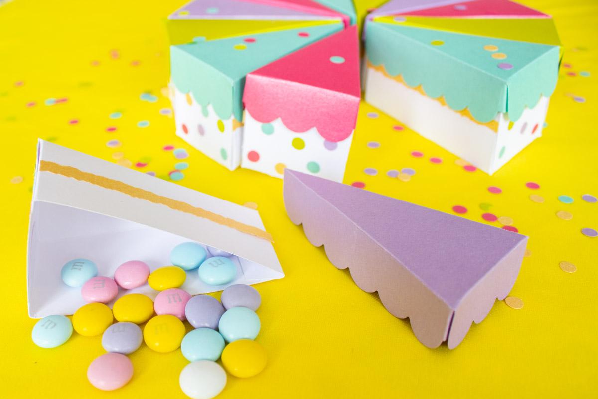 Pastel de Papel: Cajitas DIY | Regalo de Cumpleaños