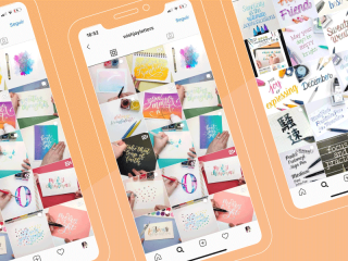 Mis Cuentas Favoritas de Instagram: LETTERING