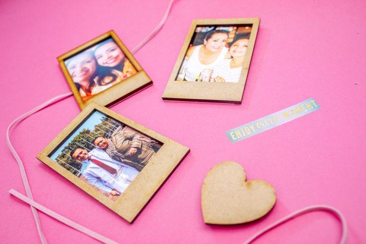 Imanes Instax Fotos imantadas instax