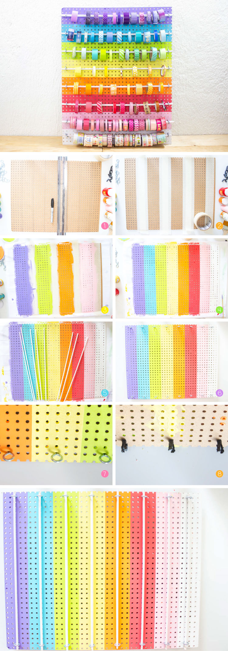 organizador washi tapes