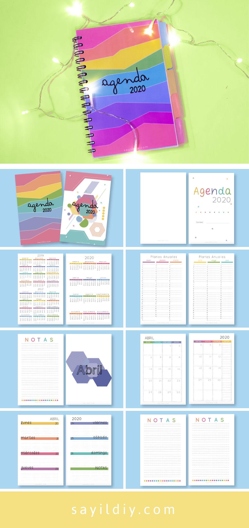 agenda 2020 gratis