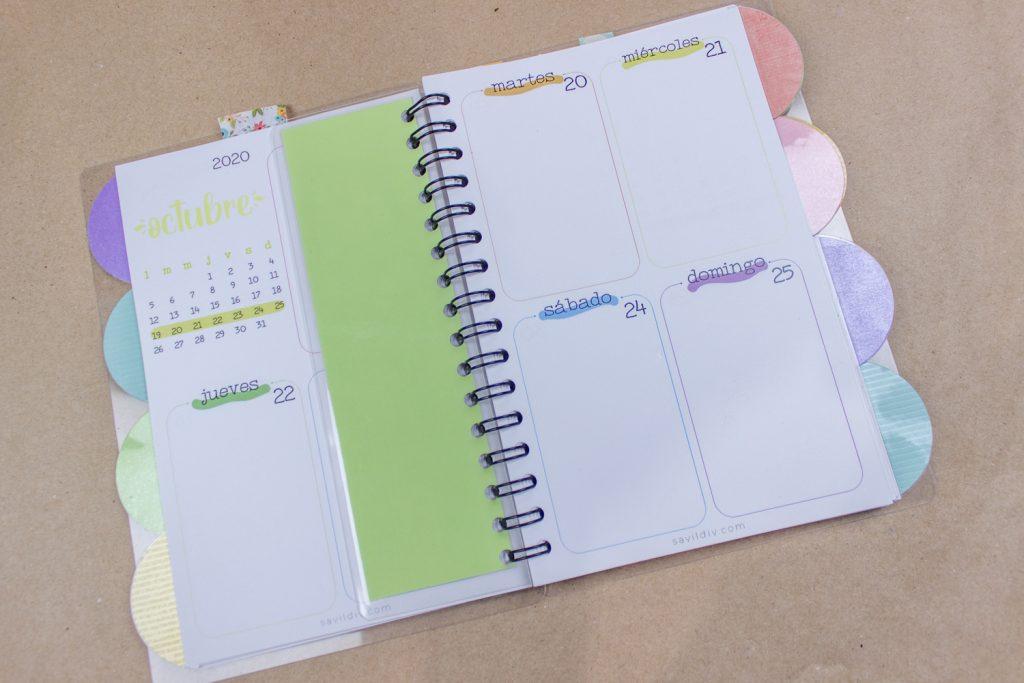 decorar tu agenda