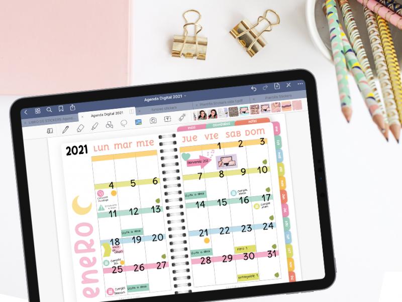 Planea conmigo Enero 2021 | Agenda Digital