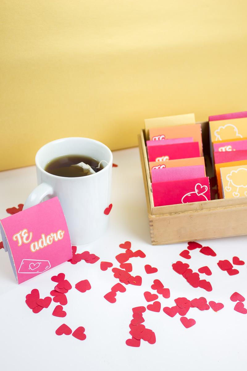 tes de amor para San Valentín
