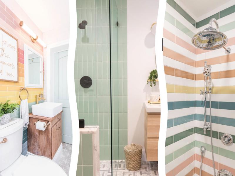 Ideas de baños de colores