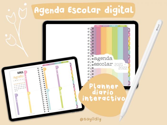 Agenda Escolar 2021-2022 DIGITAL